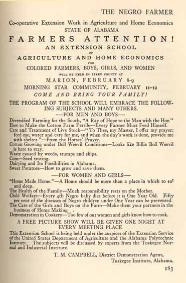 Page from The Negro Farmer
