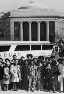 HS student visitors to MIT, 1972
