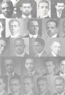 Grid of students prior to the Class of 1930
