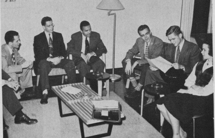 Student-Faculty Committee, c. 1952