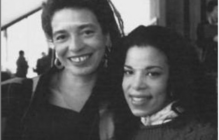 Black Women in the Academy conference: Angela Davis and Judi Love Bowman, 1994