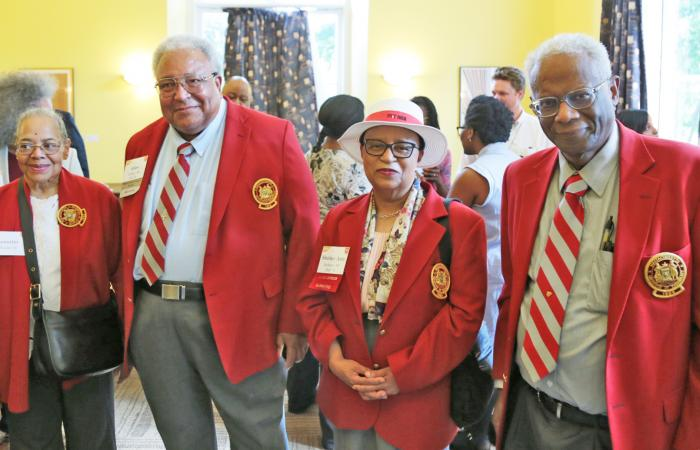 BAMIT Redcoats at the Black Graduate Reception, 2018