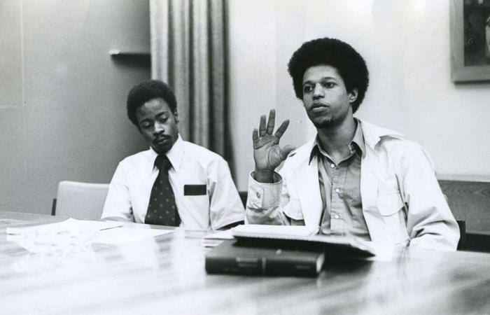 Ben Moultrie and W. Ahmad Salih