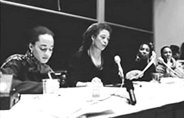 Black Women in the Academy conference: Panel with Angela Davis, 1994