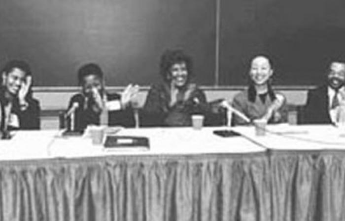 Black Women in the Academy conference panel, 1994