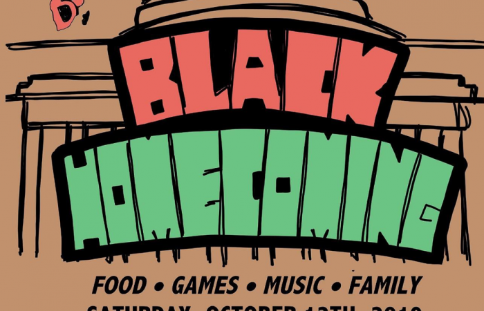 MIT BSU Black Homecoming flyer, 2019