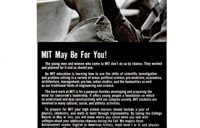 MIT recruitment ad in Ebony Magazine, 1971