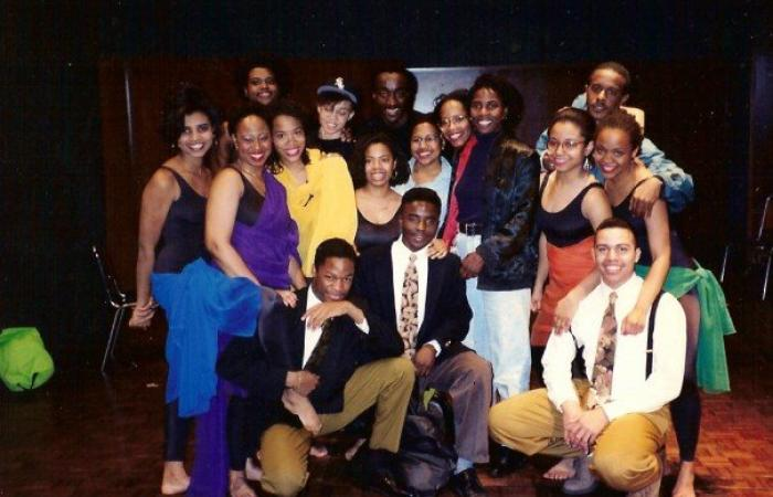 "Cast of ""for colored girls who have considered suicide / when the rainbow is enuf ,"" 1992"