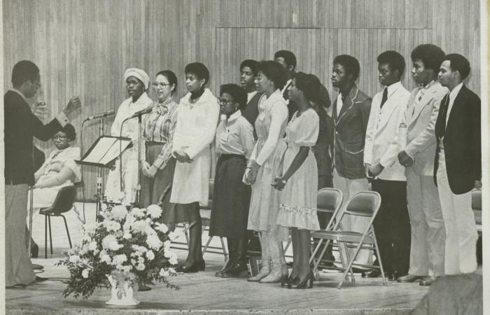 MIT Gospel Choir, 1978