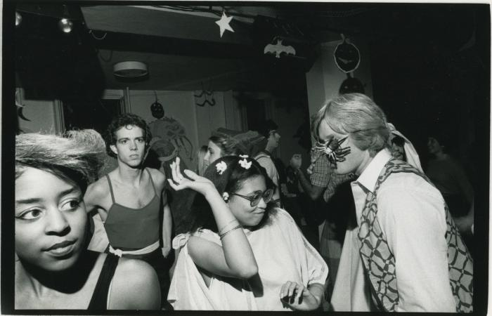 Halloween party at MIT, 1984