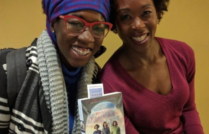 Joy Buolamwini and Margot Lee Shetterly