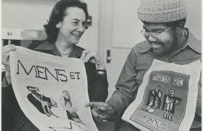 Carola Eisenberg and Albert Oliver Jr., 1975