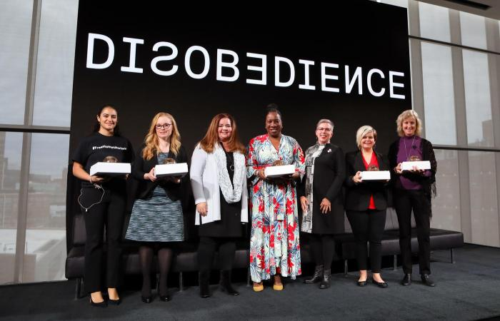 MIT Media Lab Disobedience Award, 2018