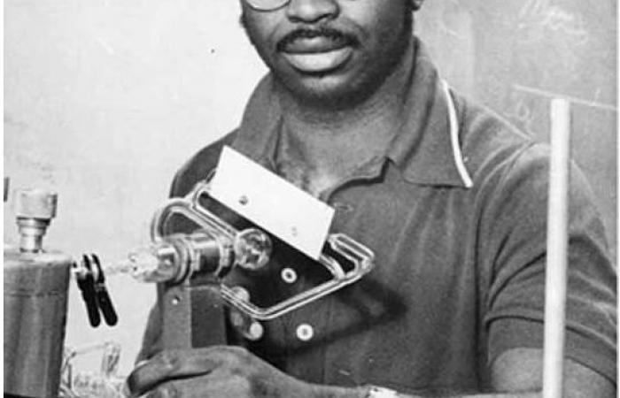 Ron McNair at MIT II, late 1970s