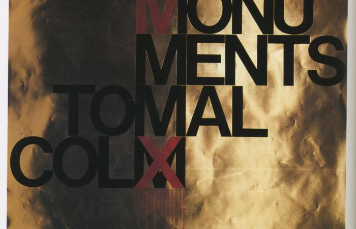 Monuments to Malcolm X poster