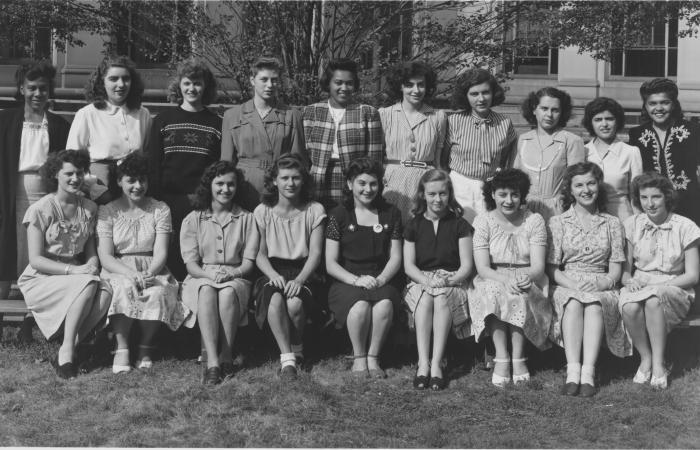 Radiation Lab Group 36 trainees, 1945