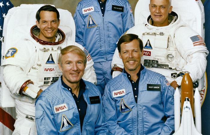 STS 41B Challenger Crew