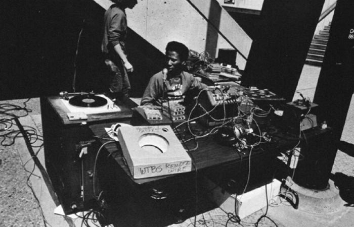 "James ""JC"" Clark AKA DJ Larkin, 1975"