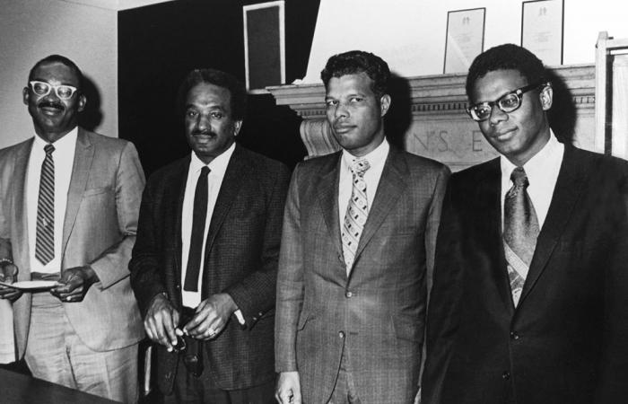 Reunion of early black alums, 1973