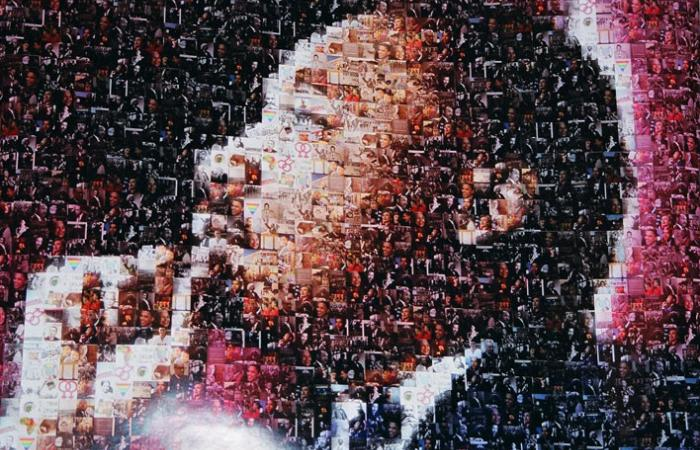 MLK photo mosaic, 2007