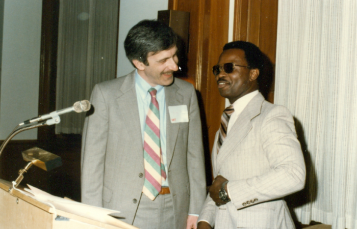 Michael Feld and Ron McNair, 1980s