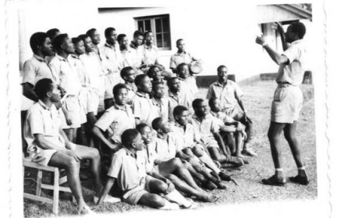 Kakamega Secondary School students, 1961