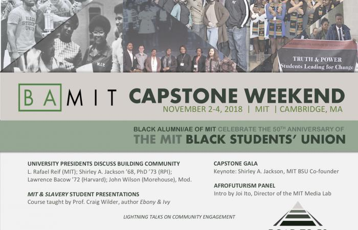 Flyer: BAMIT Capstone Event, 2018