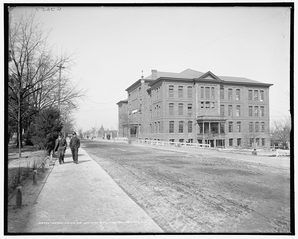 Administration Building at Tuskegee Institute, ca. 1906
