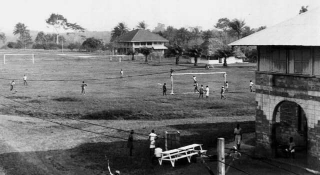 Booker Washington Agricultural & Industrial Institute campus in Liberia, ca. 1940