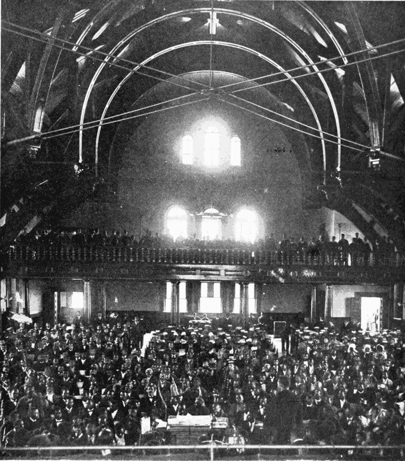 Interior of The Chapel, 1899