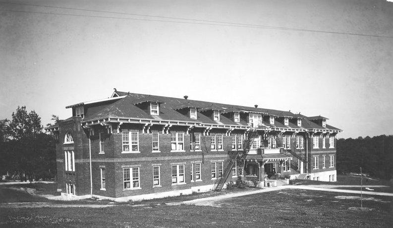 James Hall at Tuskegee Institute