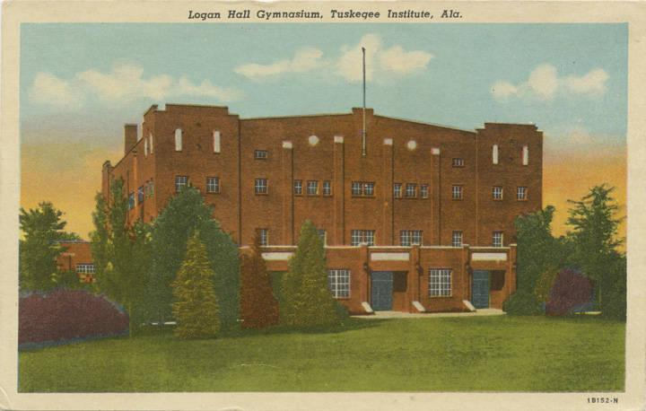 Logan Hall at Tuskegee Institute