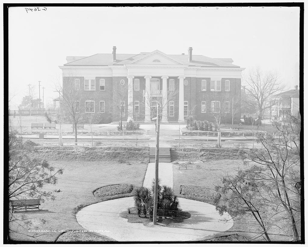 The Carnegie Library Building at Tuskegee Institute