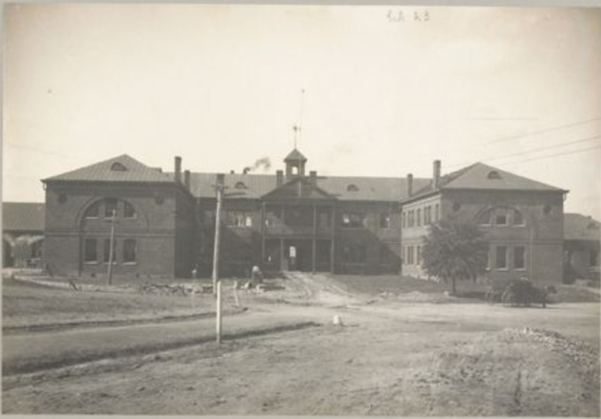 Slater-Armstrong Memorial Trades' Building at Tuskegee Institute, 1902