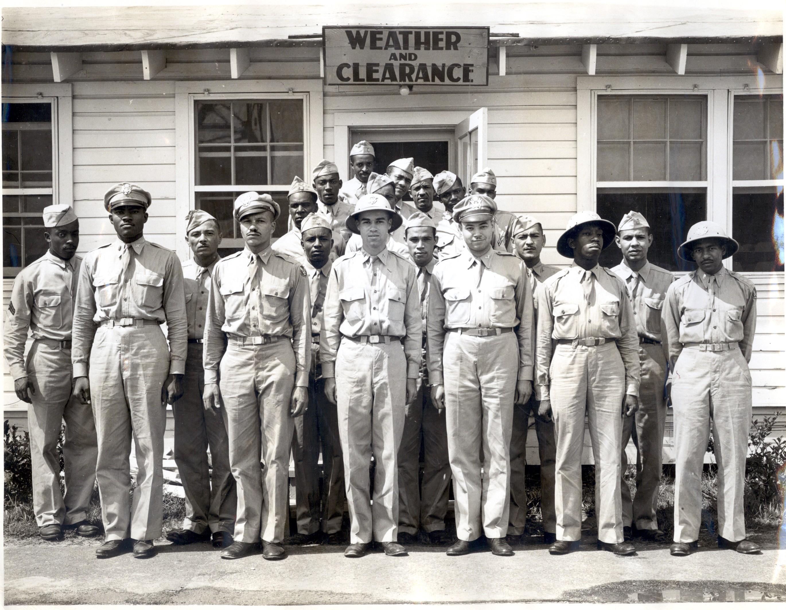 Tuskegee weather detachment, ca. 1944