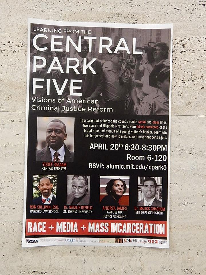 Flyer: Learning from the Central Park 5, 2016