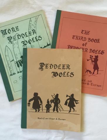 Peddler Dolls books by The Turner Sisters